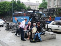 Molly malone still wheels her wheelbarrow