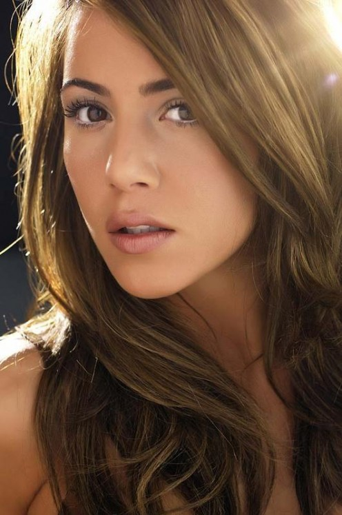 I believe British-born actress/model/singer Layla Manoochehri is of Iranian descent.