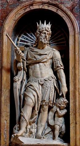 King David & child