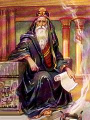 Aged King Solomon