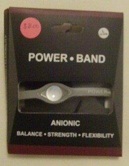 """The brandless """"knock off"""" Power Band that started my research."""