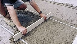 How to Screed your own Cement, Concrete or Base Sand and Gravel