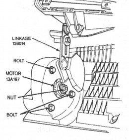 Headlight Motor Assembly