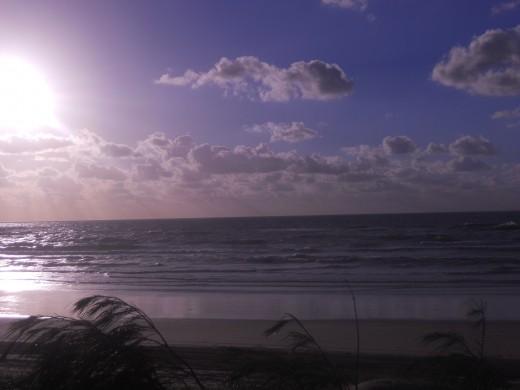 Sunrise over Fraser Island