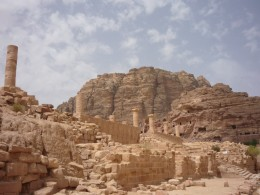 A view from Petra
