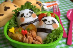 A more playful, homemade version of bento box fare. (CCL C)