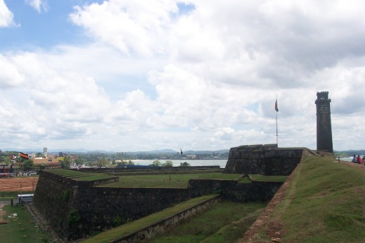 Galle Fort-built by the Portuguese.