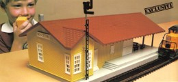 1978's Talking Train Station from the train catalog