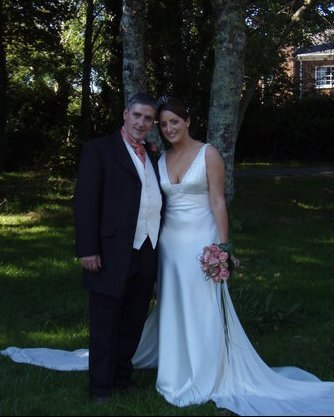 The happiest day of my life..... erm... up to that point!  Every day since then has, of course, gotten progressively happier!