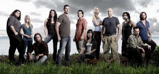The fabulous cast of Lost