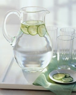 Simple Cucumber Water