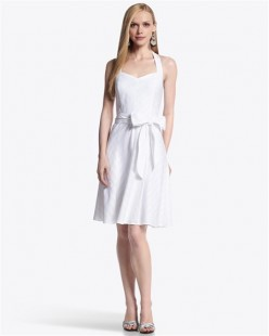 This Tonal Stripe Sundress is simple and understated as well as gorgeous!