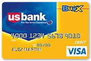 US Bank Visa Buxx Card