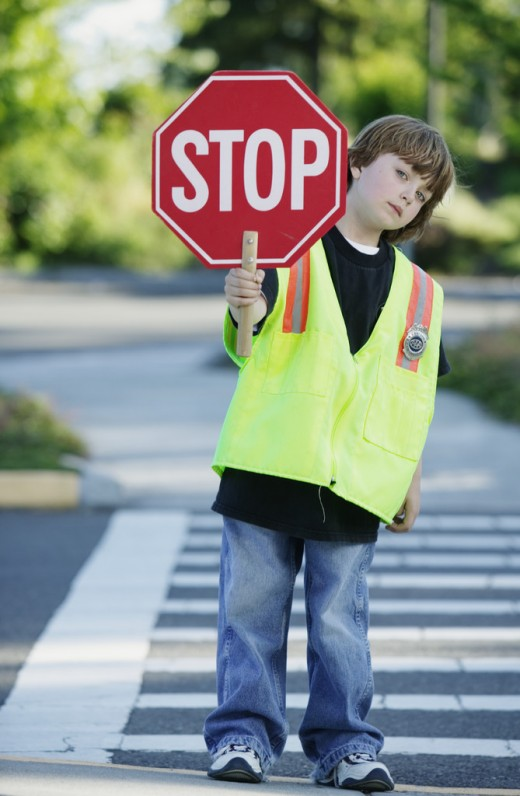 Drivers , stop for pedestrians!