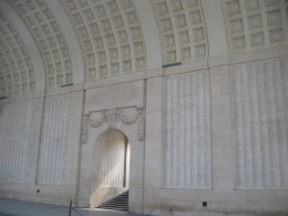 Interior of Menin Gate, Ypres
