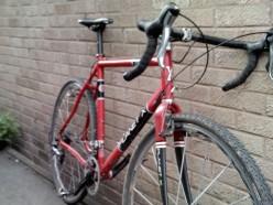 A typical cyclo cross bike- Planet X Uncle John