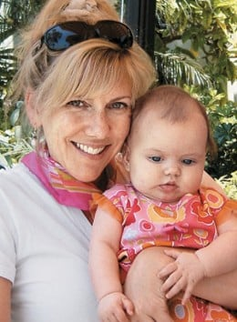 Documentary film-maker Rielle Hunter and her daughter, Quinn, who was fathered by John Edwards.