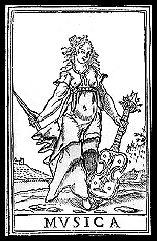 Viol, early 16th century type, woodcut; By Cyclocifra (Wikipewdia anglfona) via Wikimedia Commons