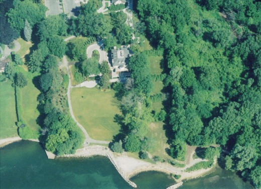 Paletta Mansion and Paletta Lakefront Park 2002.