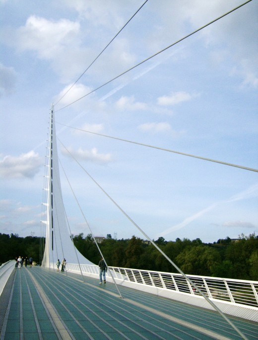 My perspective of our beautiful Sundial Bridge.