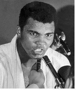 Ali does the talking