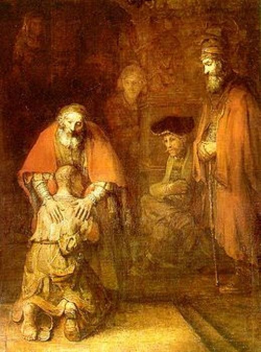 FATHER FORGIVE PRODIGAL SON