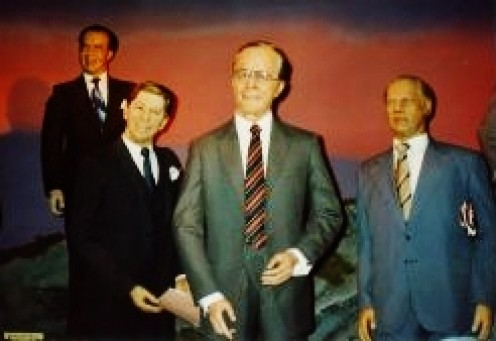 Some U.S. Presidents in the Royal London Wax Museum