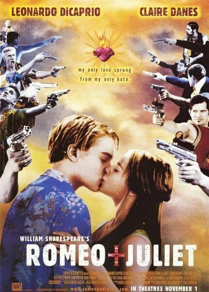William Shakespeare's Romeo & Juliet Poster