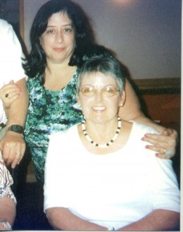 Just a few years after cancer treatments. I'm the brunette at the top.