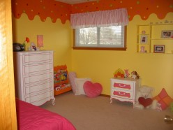 How to Design a Creative Children's Room at Low Costs:  Fun Decorating and Paint Ideas