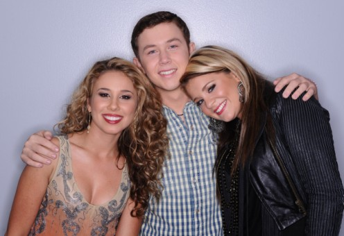 Haley, Scotty, Lauren - American Idol 2011 Season 10 Top 3 Semifinalists