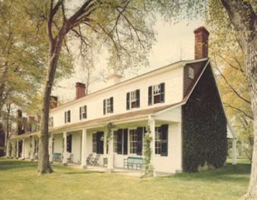 Painting of Sotterley Plantation