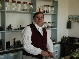 A traditional apothecary's shop in Old Salem