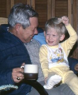 A boy's best friend: his Grandpa
