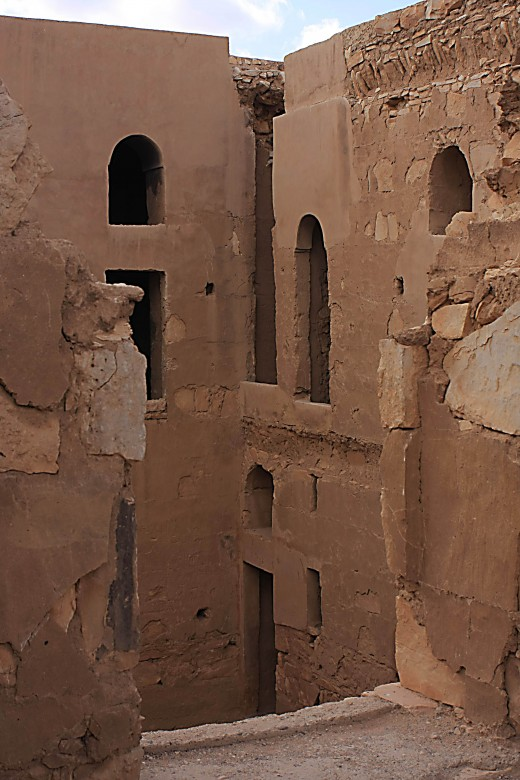 The rooms at Qasr al-Kharana