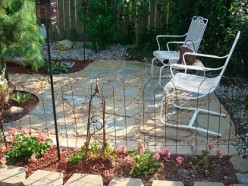 DIY - How to Build a Natural Stone Patio for under $100.00