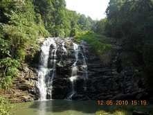 The Abby Falls at Coorg