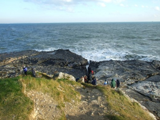 The high ground at the front of Hopes Nose, deep water but you need the gear to fish it.