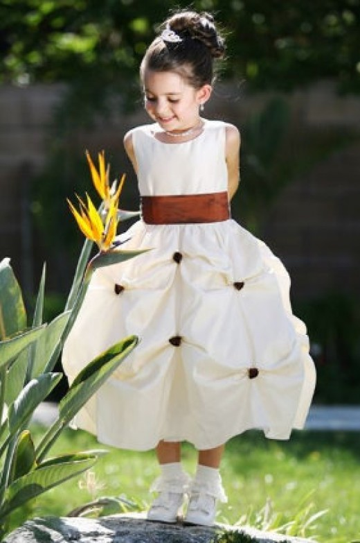 Versatile Flower Girl Dress