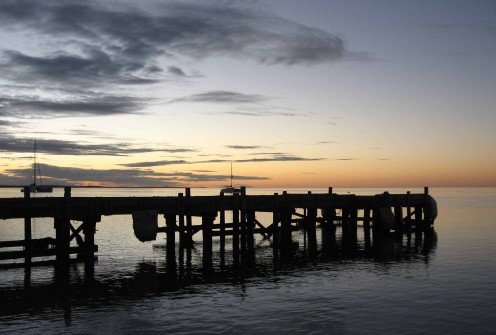 Another sunset over another dock in another remote Aussie seaside town.