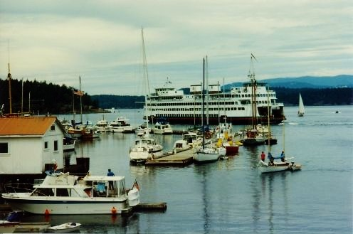 Friday Harbor view