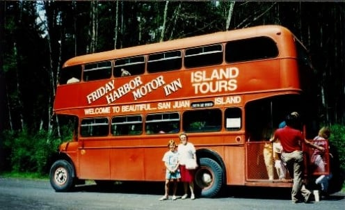 We board the bus for our 2 hour tour of the island of San Juan