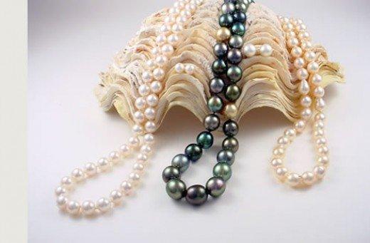 Pearls are the birthstone for June
