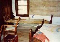 The average coffin in those days cost $25.  The remains of Jesse's coffin pictured here cost $250 and was paid for by the State as Jesse was considered to be somewhat of a hero.