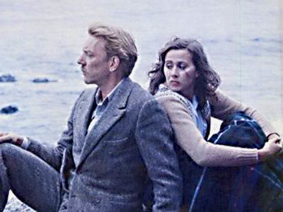 Donald Sutherland and Kate Nelligan as star-crossed lovers in 'Eye of the Needle'