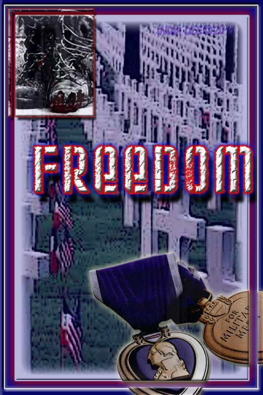 Memorial Day Freedom Graphic