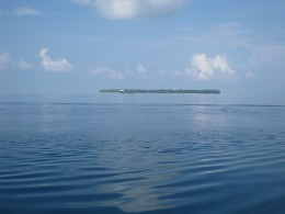 Another island in Karimunjawa. We call it a floating island for the  water around it as blue as the sky so that makes it like floating.