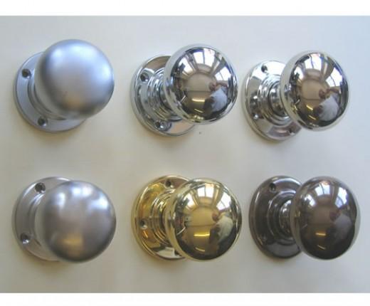Solid Brass Door Knobs