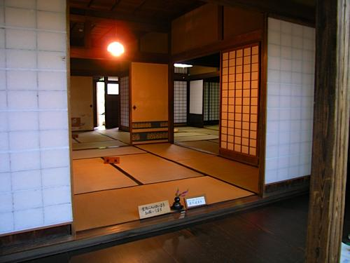 Samurai house in Kakunodate.
