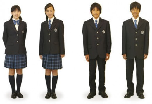 Common school uniforms.